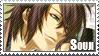 Stamp: Okita Souji by Luxuriah