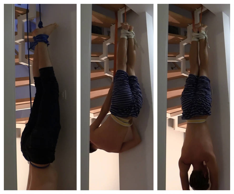 Tied Upside Down by hgtilove