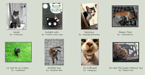 September 23 Submissions by KittyCatCult