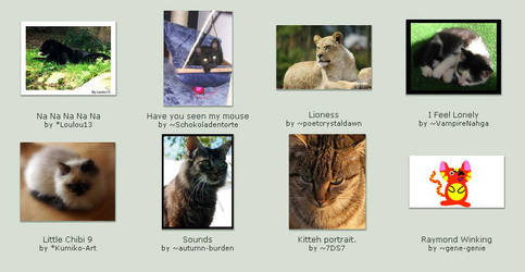 October 6 Submissions by KittyCatCult