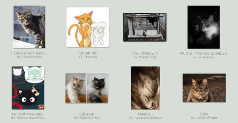 Nov 12 Submissions by KittyCatCult