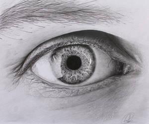 Eye Drawing by ChrisHerreraArt