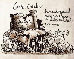 Castle Crasher by dementedsped