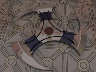 3 Blade shuriken by ValdesBG