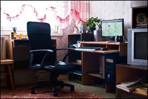 My new workplace by ValdesBG
