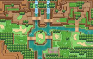 Tileset test map (Pokemon sage) by GalifiaStudios