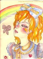 blossom girl by m-a-k-o