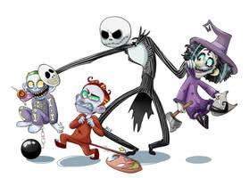 Jack! Jack! It's Boogie's boys by Beetlejulia