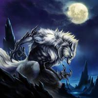wolfman by Shikazan