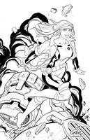 X-men 90's Rogue by jacksongee