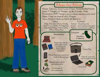 Meet The Artist: Tait by ForestTraveler