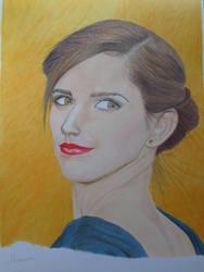 Emma Watson by OlhosVerdes