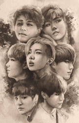 BTS Group by Chewiebaka