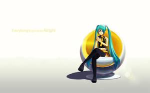 Hatsune Miku - Melody Line by powerswithin