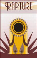 Bioshock 2 Rapture Poster by SlivErJap