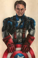 Captain America  by swiftcross
