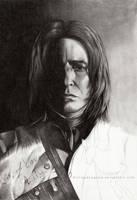 Severus Snape WIP2 by EternaLegend