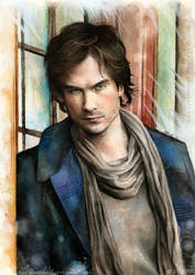 Damon Salvatore by EternaLegend