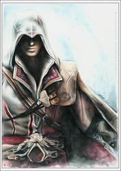 Ezio - Assassin's Creed by EternaLegend