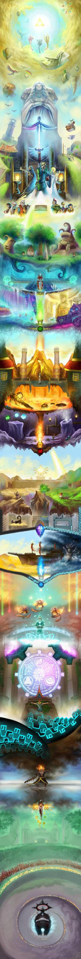 The Legend of Zelda - Skyward Sword by EternaLegend
