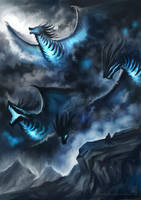 Storm Dragons by EternaLegend