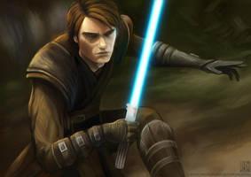 Anakin Skywalker by EternaLegend