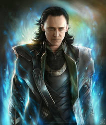 Loki - The Avengers by EternaLegend