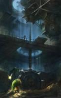 Majora's Mask: The Clockworks by EternaLegend