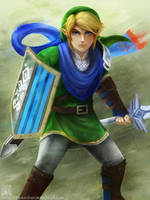 Link - Hyrule Warriors by EternaLegend