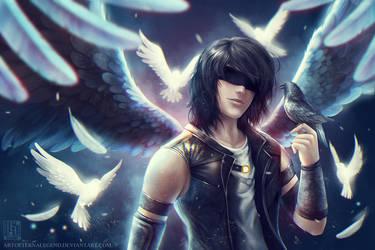 Dark Wings by EternaLegend
