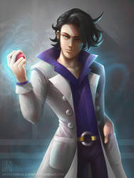 Professor Sycamore by EternaLegend