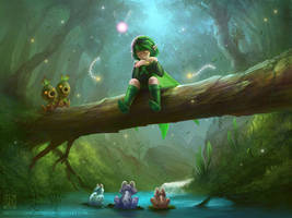 Saria's Song by EternaLegend