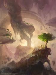 Ethereal Cliffs by EternaLegend