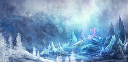 Crystal Tree by EternaLegend