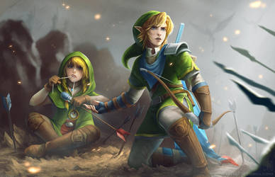 Hyrule Warriors: War's End by EternaLegend