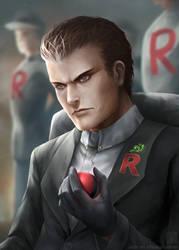 Pokemon: Giovanni by EternaLegend