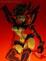 Ryuko zombieee by Spikie