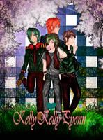 OC - Group 4Green ^^ (KellykellyPyonn) by KellyKellyPyonn