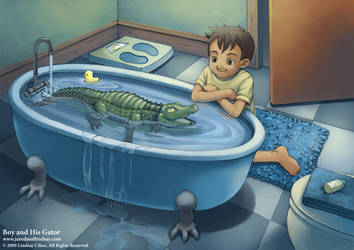 Boy and His Gator 1 by LCibos