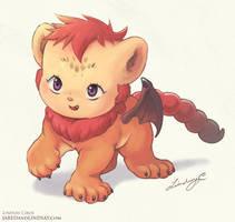Lil Manticore Cub by LCibos
