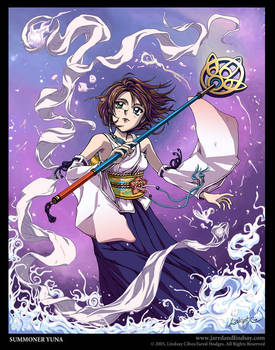 Summoner Yuna by LCibos