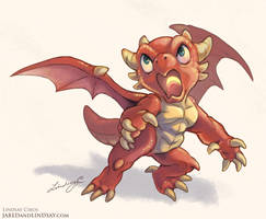 Dragon Hatchling by LCibos