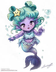 Lil Mermaid by LCibos
