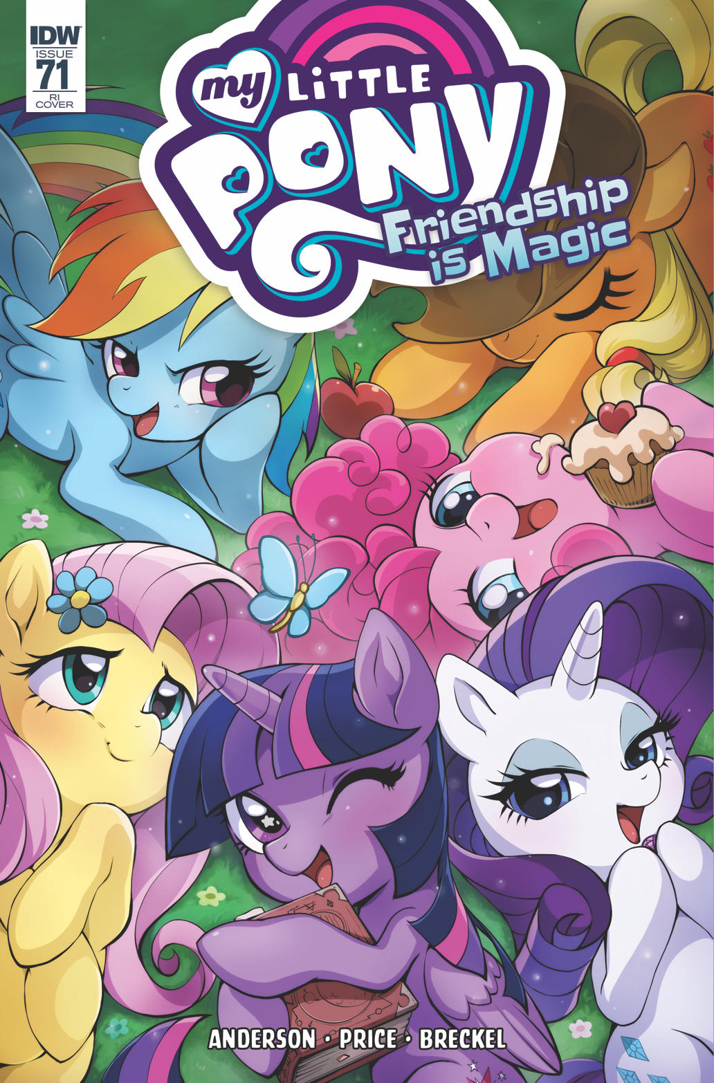 My Little Pony Cover Art #71 RI by LCibos