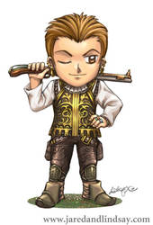 SD Balthier from FFXII - color by LCibos