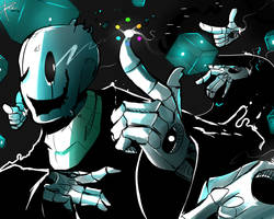 W.D Gaster! by RandomColorNice