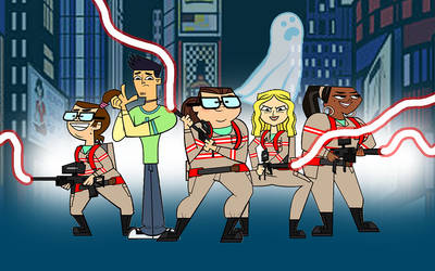 Total Drama - Ghostbusters by kyle34eaton54