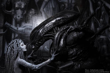 Alien and his Queen by Bewitchedrune