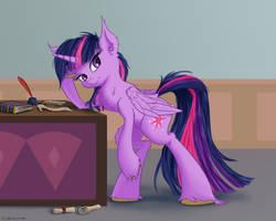 Headmistress Sparkle by Coldtrail