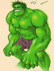 Hulk-Out by bryne